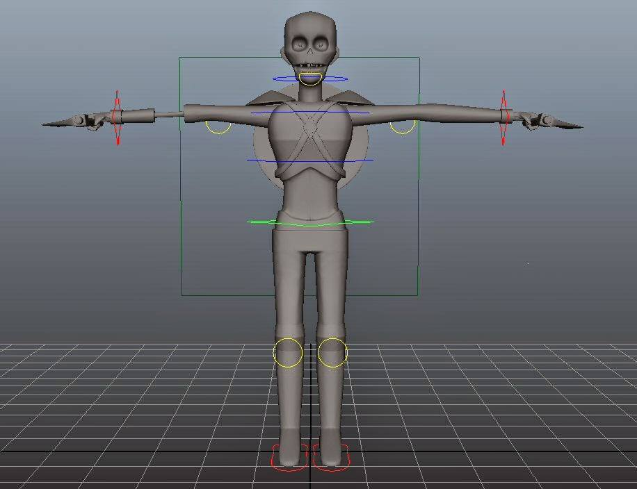 Curso de Rigging Odd School 3D